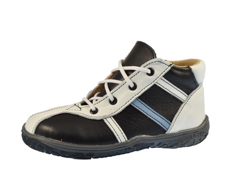Dětská obuv - Boty Beda MB0009 PR3 Black pruhy db45d79e25