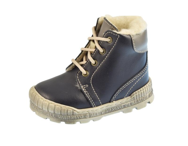 e43b56f9788 Dětská obuv - Dětské zimní boty Pegres 1700 Modrá