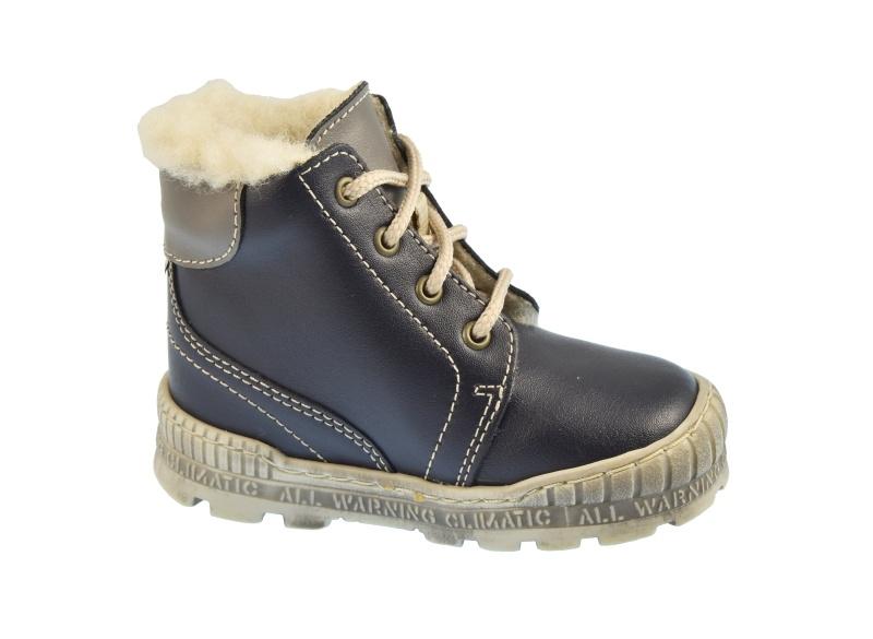 2ec43a242db Dětské zimní boty Pegres 1700 Modrá