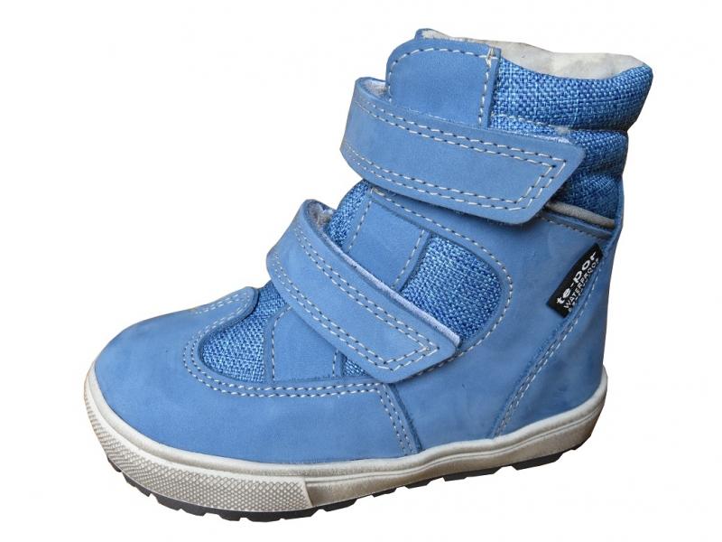 d8761db0b08 Dětská obuv - Dětské zimní boty Jonap 027N Tyrkys