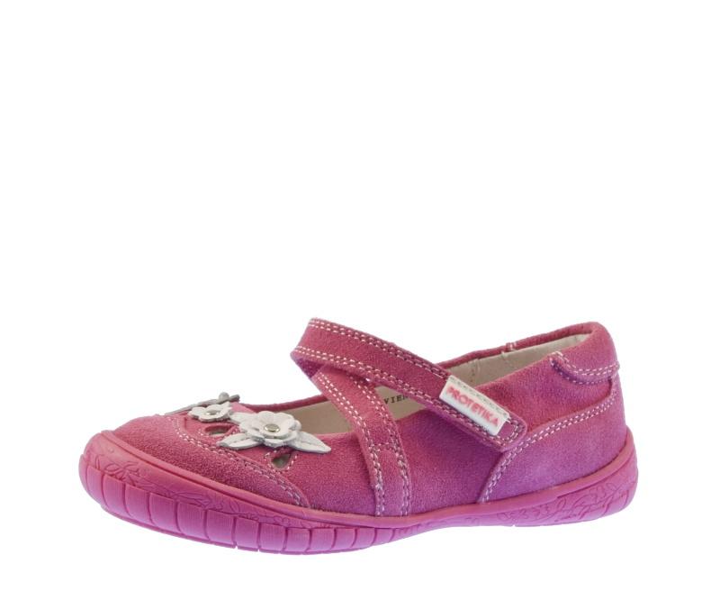 cf7f3d5768c Dětská obuv - Dětské baleríny Protetika Vivien fuxia