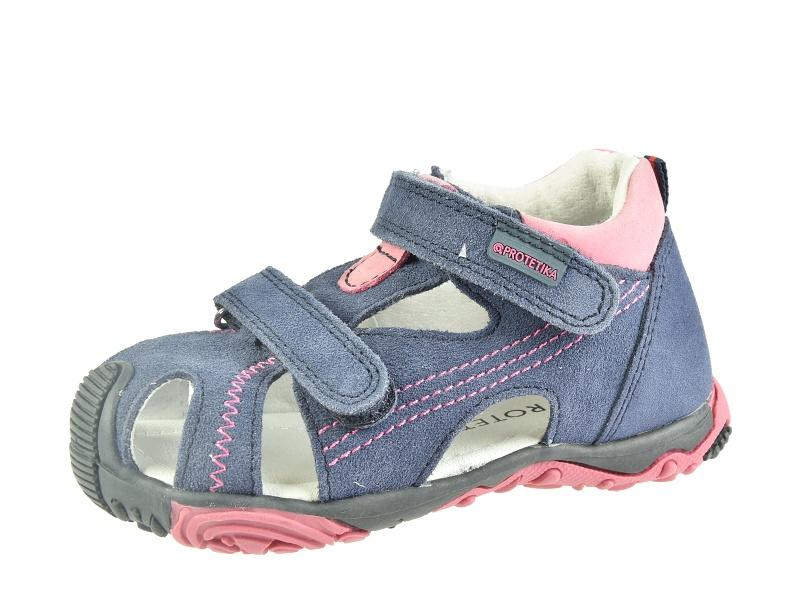 3c74b094bb69 Dětská obuv - Dětské sandály Protetika LARIS fuxia