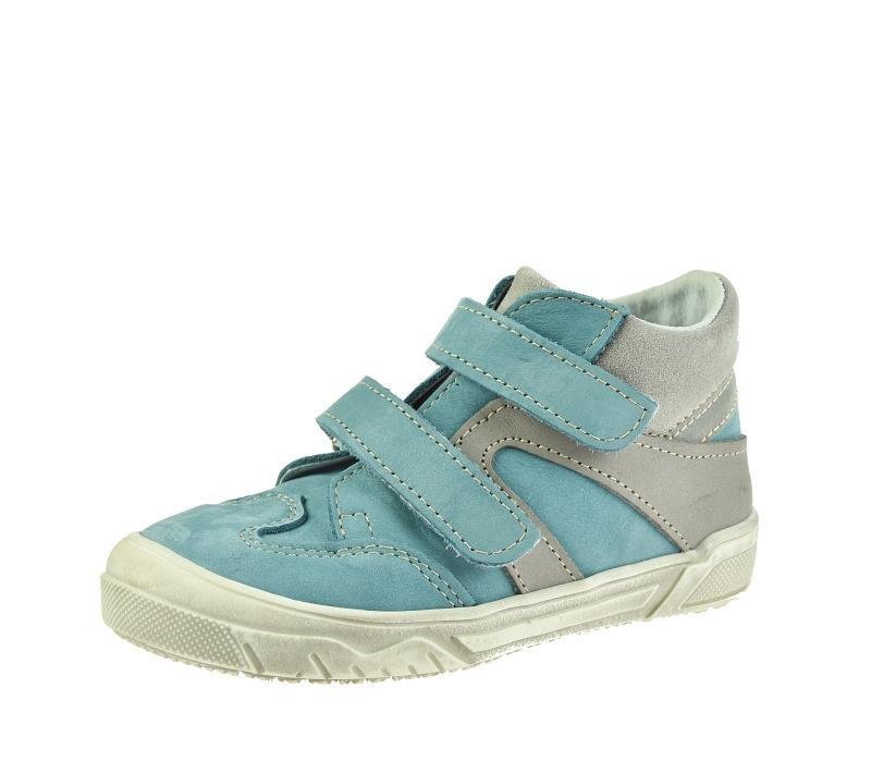 Dětská obuv - Dětské celoroční boty Boots4u T815V Tyrkys 3c09e6b798