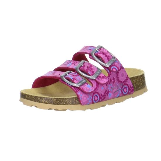 ad6e5bfec01 Dětská obuv - Dětské pantofle Superfit 1-00113-64