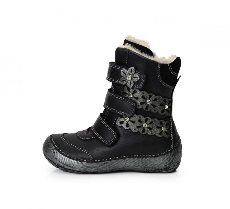 Dětská obuv - Dětské zimní boty DDStep 023-800BL a019cb5aaa