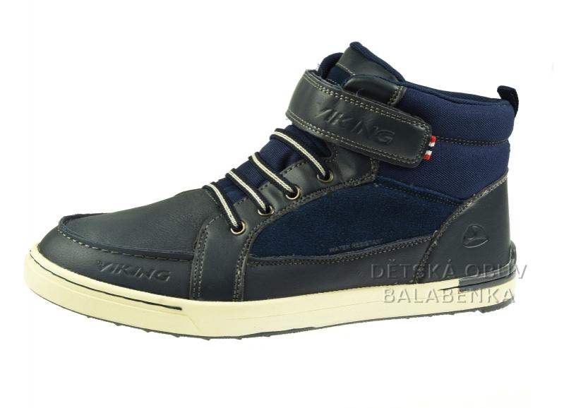 Dětská obuv - Dětské celoroční boty Viking Moss Mid 3-47045-0-550 2b30a29729b