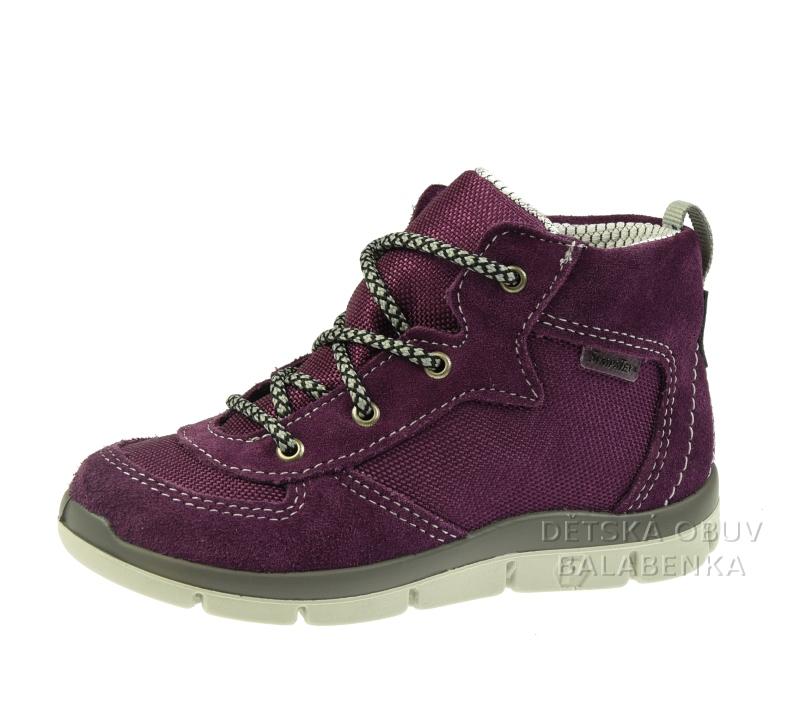 Dětská obuv - Dětské celoroční boty Ricosta Pejo merlot 2026000 360 613a3083bb