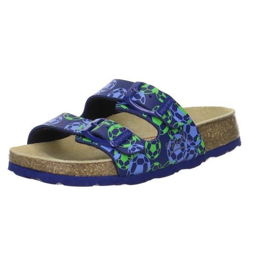 07b416ddd5b Dětská obuv - Dětské pantofle Superfit 2-00111-81