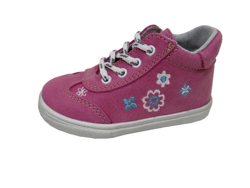 51c8bbc36be Dětská obuv - Dětské celoroční boty Jonap 011 M Kytka