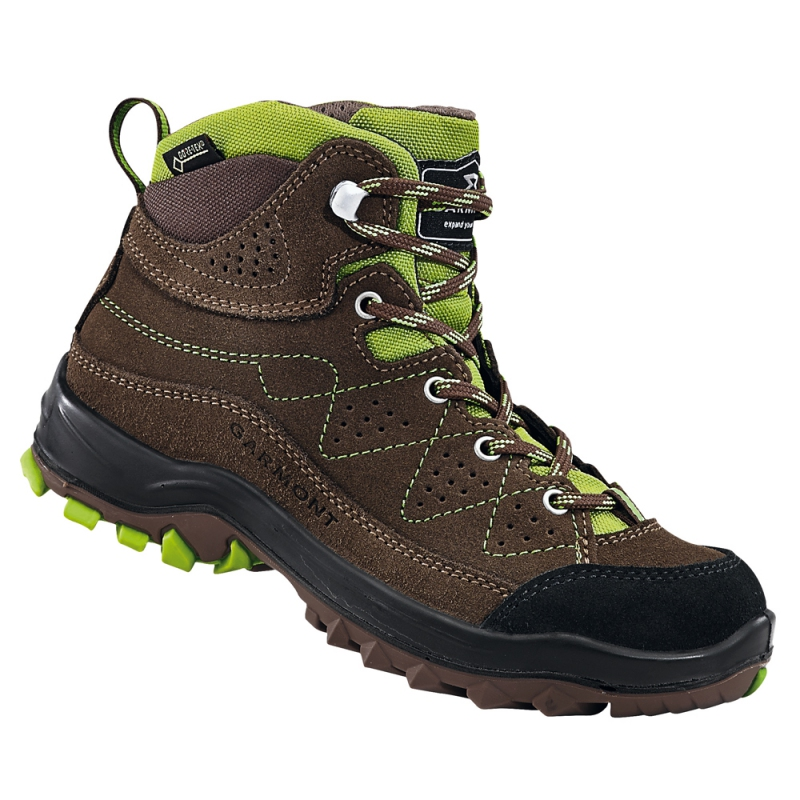 69acb38f5f5 Dětská obuv - Dětské trekové boty Garmont Escape brown