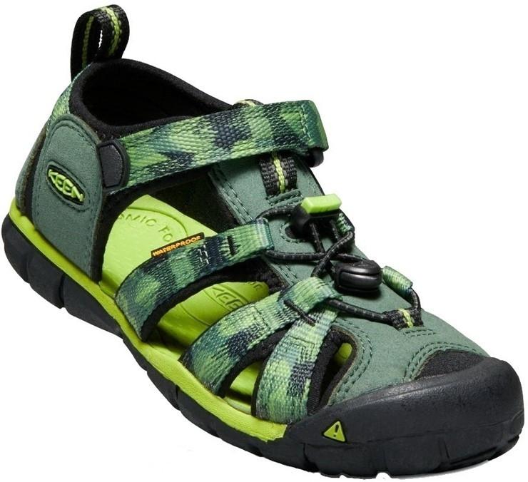 23faf0316 Dětské sandály Keen SEACAMP Duck Green/Greenery | Keen - Dětská obuv ...
