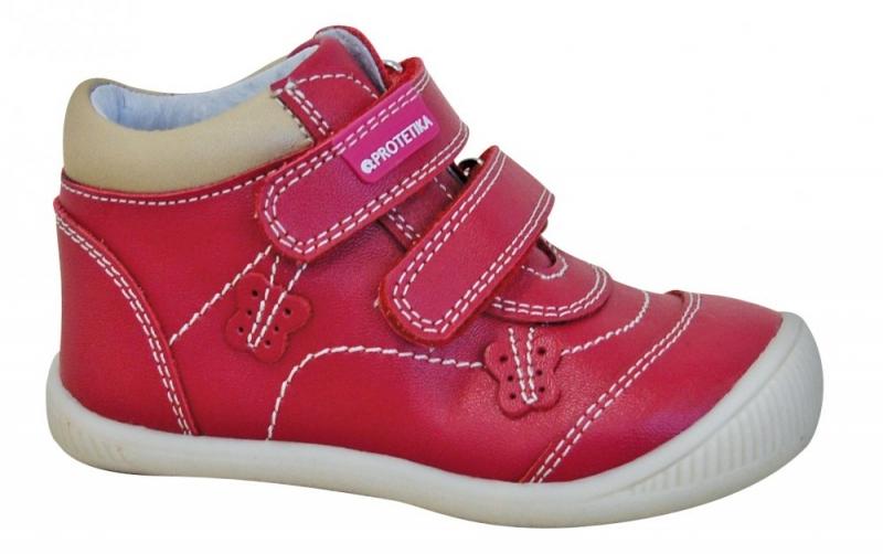 ee6744660f0f Dětská obuv - Dětské celoroční boty Protetika Fia red