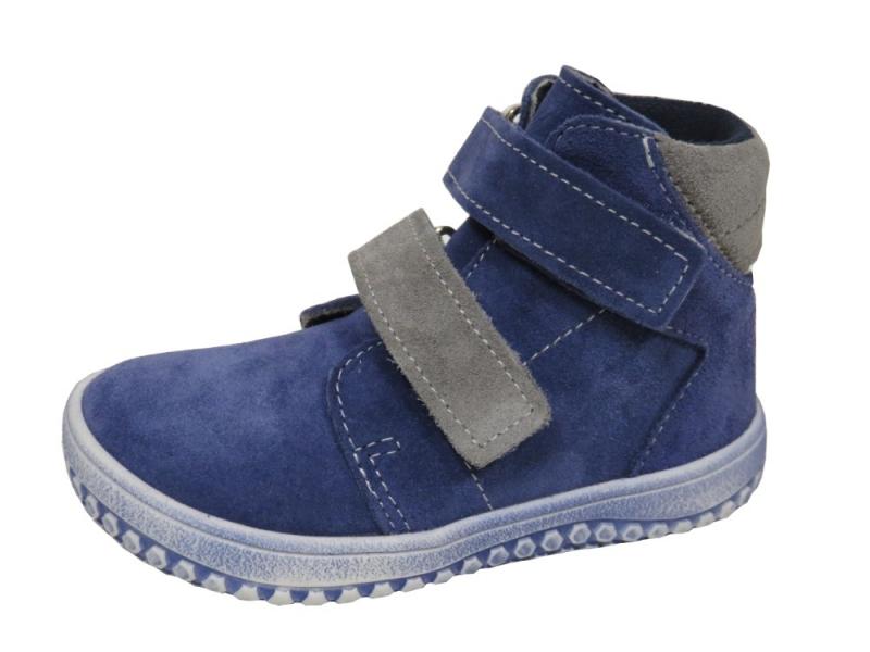 21f298cb232 Dětská obuv - Dětské celoroční boty Jonap B2 Modro Šed