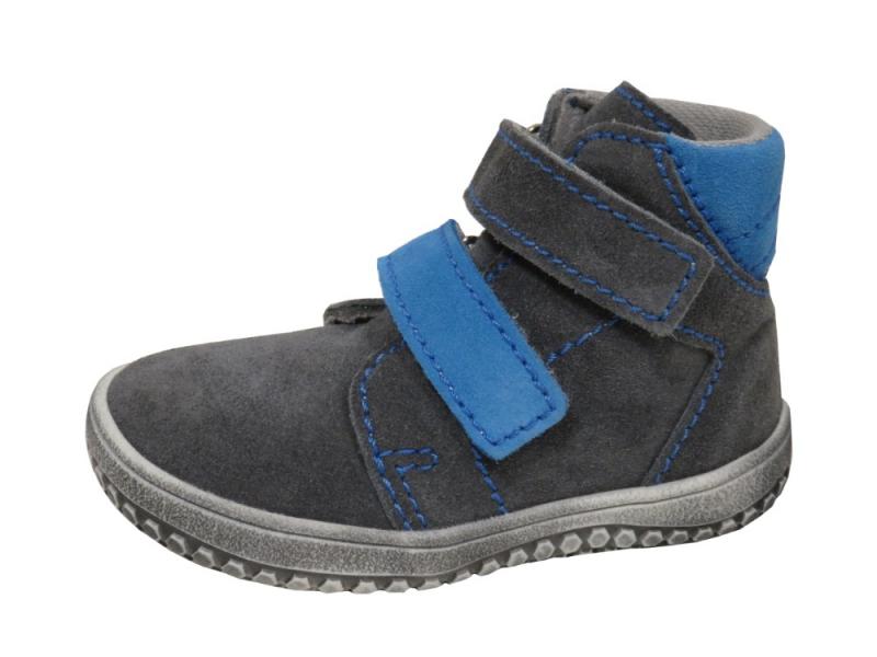 Dětská obuv - Dětské celoroční boty Jonap B2 Šedo Tyrkys 9e165bb65d