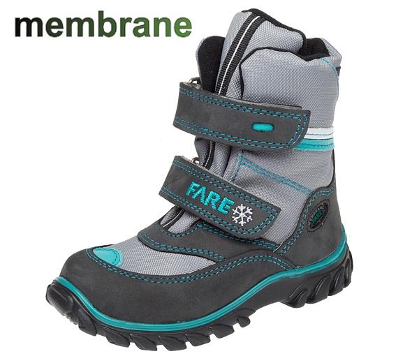 Dětská obuv - Dětské zimní membránové boty Fare 848262 ec360f18b0d
