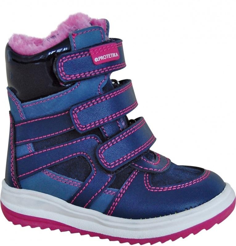 378eaa792544 Dětská obuv - Dětské zimní boty Protetika Ebony navy