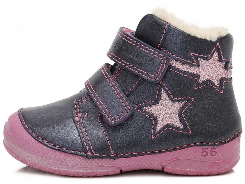 Dětská obuv - Dětské zimní boty DDStep 038-252B 7dd7179da0