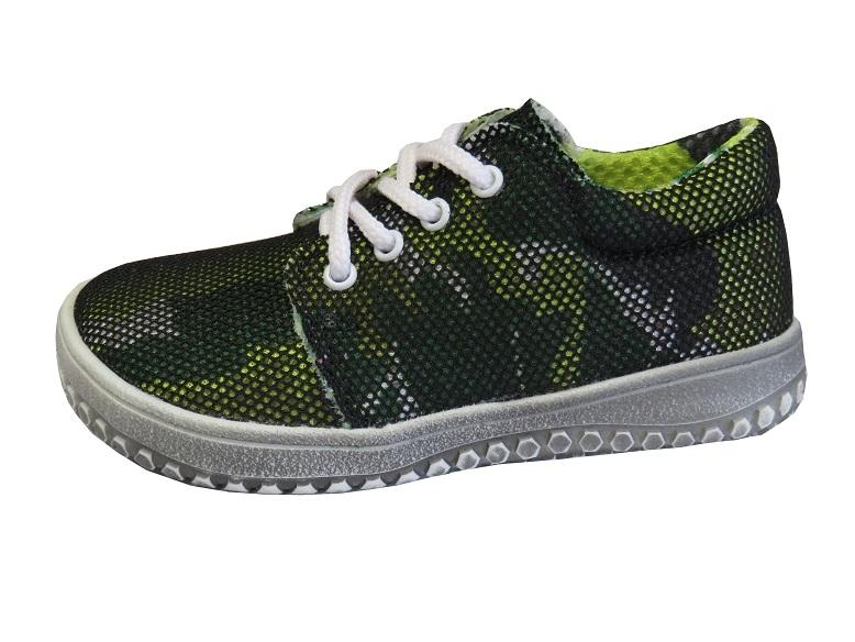 Dětská obuv - Děštské barefootové boty Jonap B7 Zelená a9103ce704