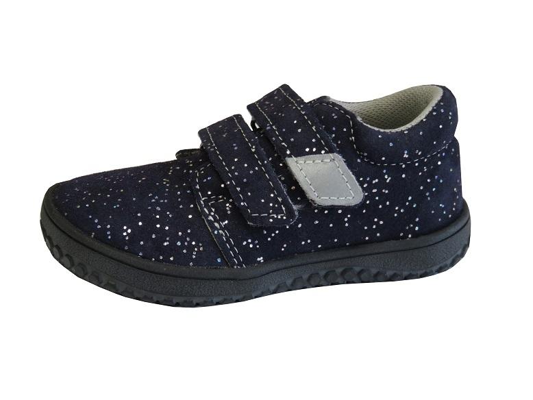 Dětské barefootové boty Jonap B1 V Modrá Třpyt - Dětská obuv ... 04427cd974