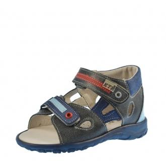 Dětské sandály KTR 119/1 granát snow