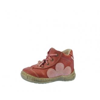 Dětské celoroční boty Pegres 1401B Červená