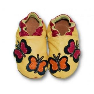 Dětské capáčky Tuptusie Motýlci žlutá