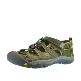 Dětské sandály Keen Newport Garden green/Brindle