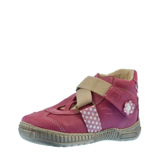 Dětské celoroční boty Pegres 1403 Růžová
