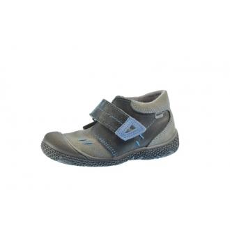 Dětské celoroční boty Santé 661/401 Černá