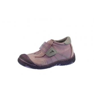 Dětské celoroční boty Santé 661/402 Fialová