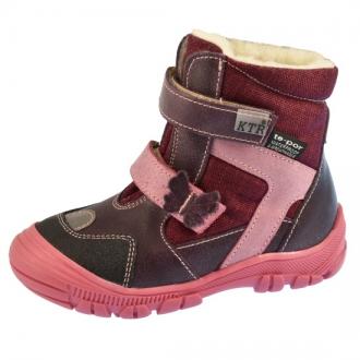 Dětské zimní boty KTR 315/1/T Fi/Rů