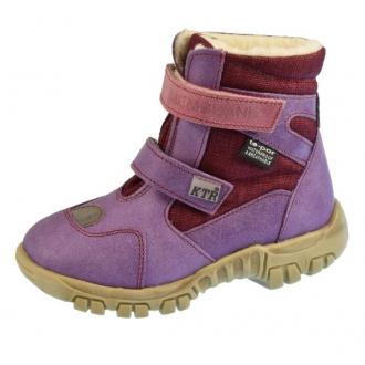 Dětské zimní boty KTR 315/BA fialová