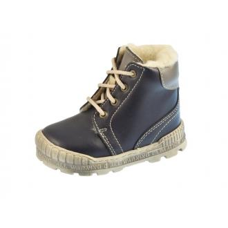 Dětské zimní boty Pegres 1700 Modrá
