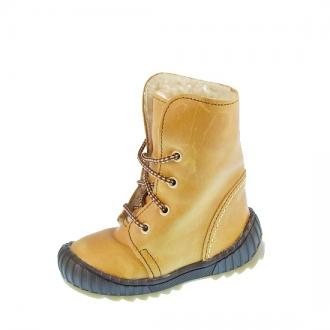 Dětské zimní boty BEDA JV0004 sv.hnědá