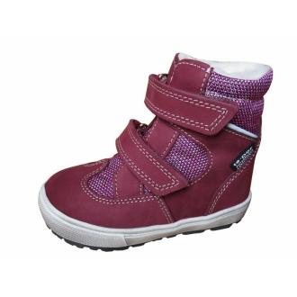 Dětské zimní boty Jonap 027N Vínová