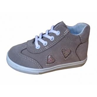 Dětské celoroční boty Jonap 029S Béžová srdce