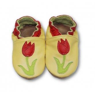 Dětské capáčky Tuptusie Tulipán žlutá