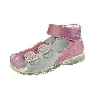 Dětské sandály Boots4U T113 Še/Růž