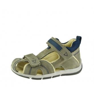 Dětské sandály Santé SK/333 Khaki-Blue