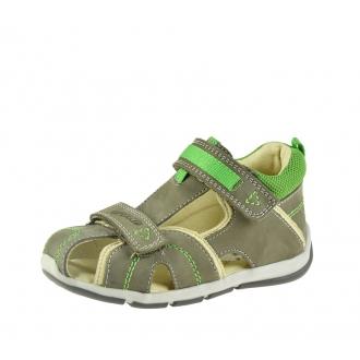 Dětské sandály Santé SK/333 Khaki-green