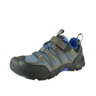 Dětské celoroční boty Keen OAKRIDGE LOW Magnet/True blue