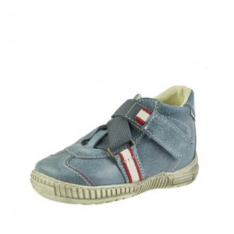 Dětské celoroční boty Pegres 1403A Modrá