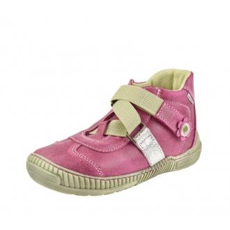 Dětské celoroční boty Pegres 1403B Růžová