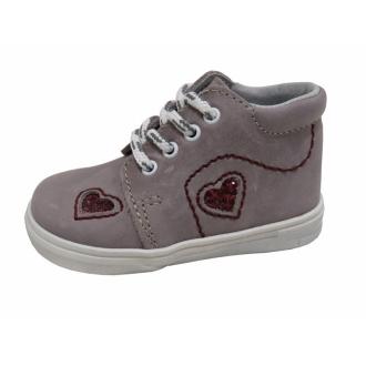 Dětské celoroční boty Jonap 022/M Srdce