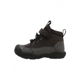 Dětské celoroční boty Keen Jasper mid Black/raven