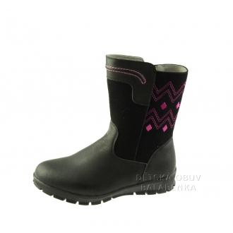 Dětské zimní boty Protetika Koko black