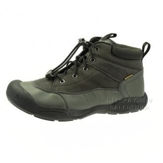 Dětské celoroční boty Keen Jasper Black/raven