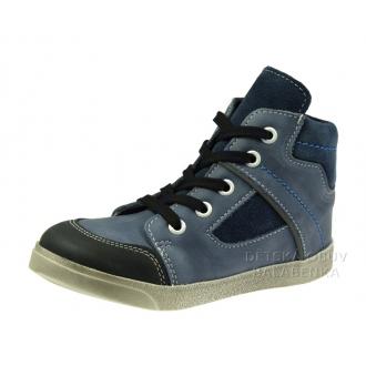 Dětské celoroční boty 052M Modrá