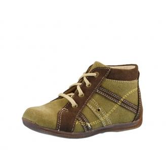 Dětské celoroční boty Bugga B007 hnědá