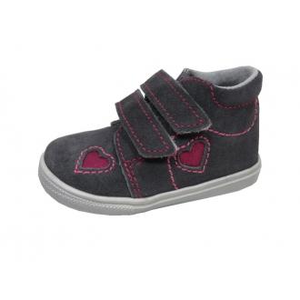 Dětské celoroční boty Jonap 022/SV Srdce